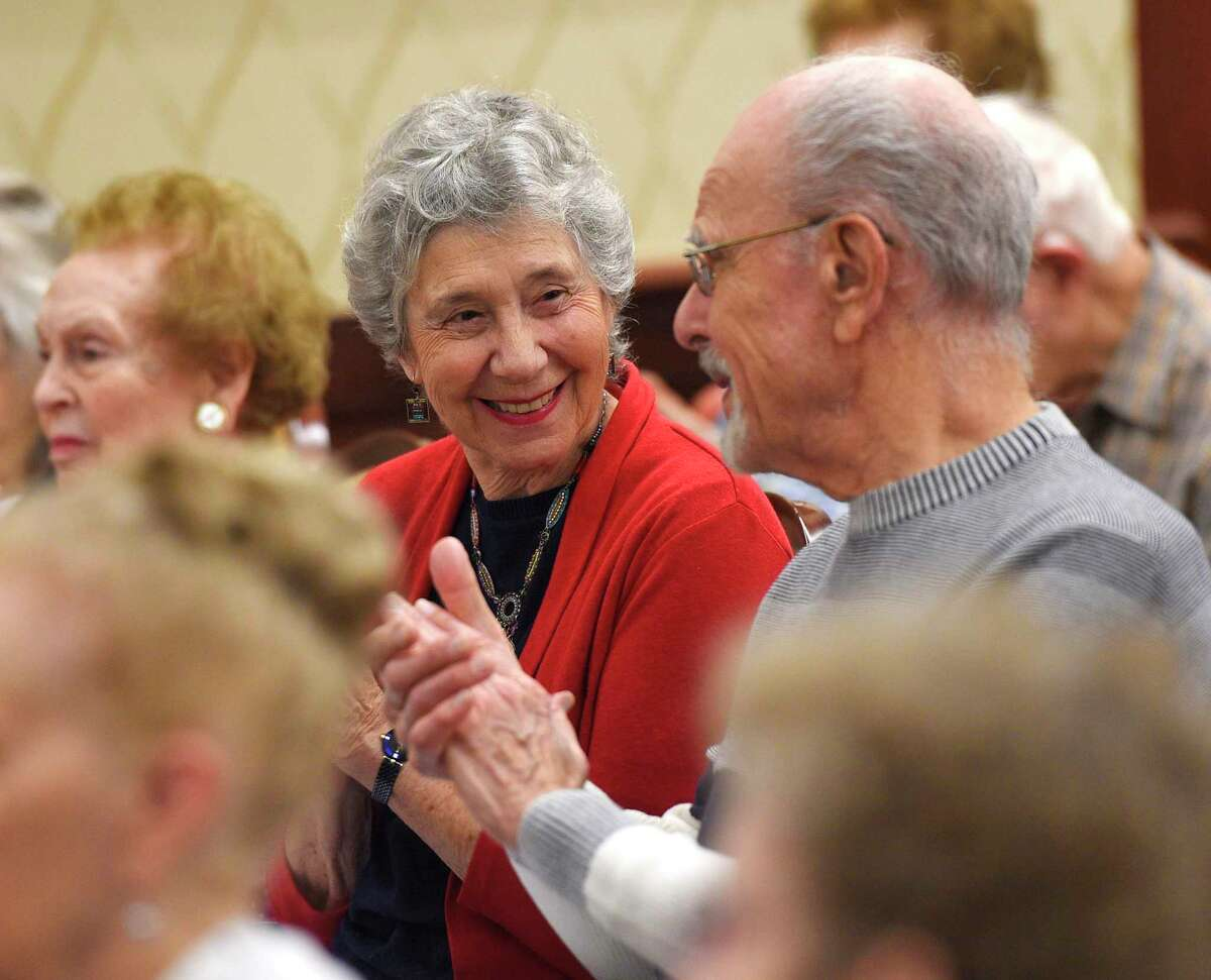 Residents take in a Greenwich Symphony Orchestra performance in December 2018 at Edgehill Senior Living in Stamford, Conn., among more than a dozen communities operated by Benchmark Senior Living.