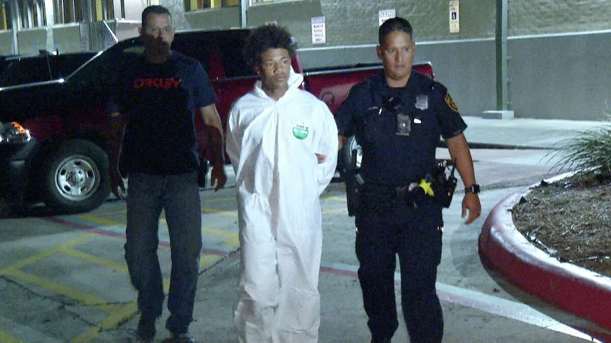 San Antonio police have arrested three men accused of shooting an East Side store clerk during an attempted robbery late Tuesday night.
