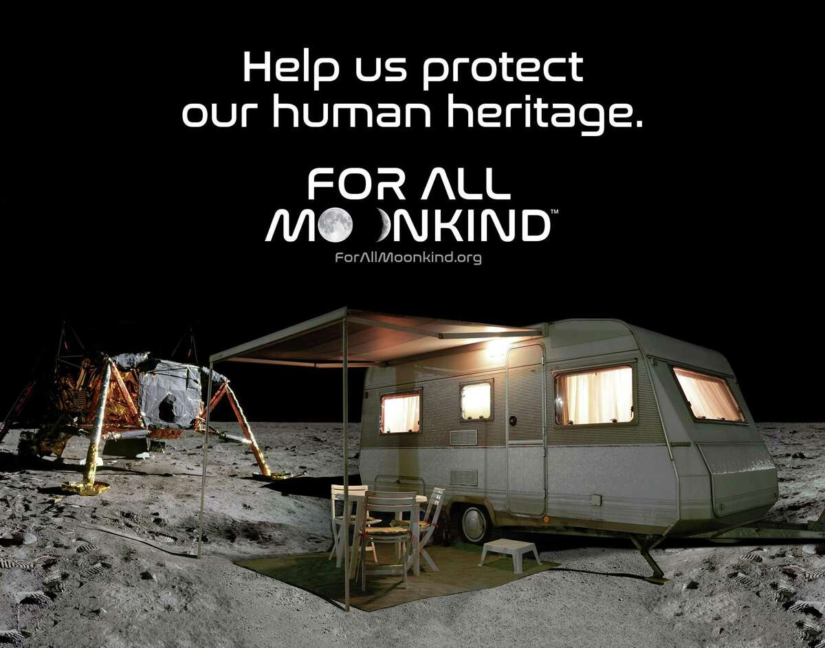 New Canaan-based For All Moonkind wants to protect the historic landing sites on the Moon from the threat of future exploration and tourism.