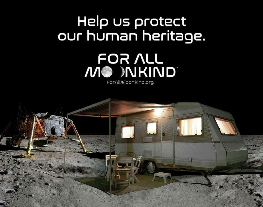 New Canaan-based For All Moonkind wants to protect the historic landing sites on the Moon from the threat of future exploration and tourism. Photo: Contributed Photo / For All Moonkind / Connecticut Post
