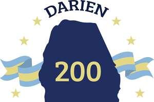 Darien's 2020 anniversary celebration logo