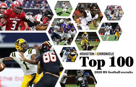 The Houston Chronicle's Top 100 2020 high school football recruits. Photos by Houston Chronicle/HCN staff.
