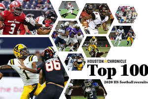 The Houston Chronicle's Top 100 2020 high school football recruits. Photos by Houston Chronicle/HCN staff.