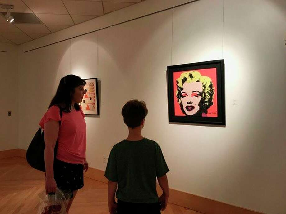 Warhol's Marilyn. (photo provided)