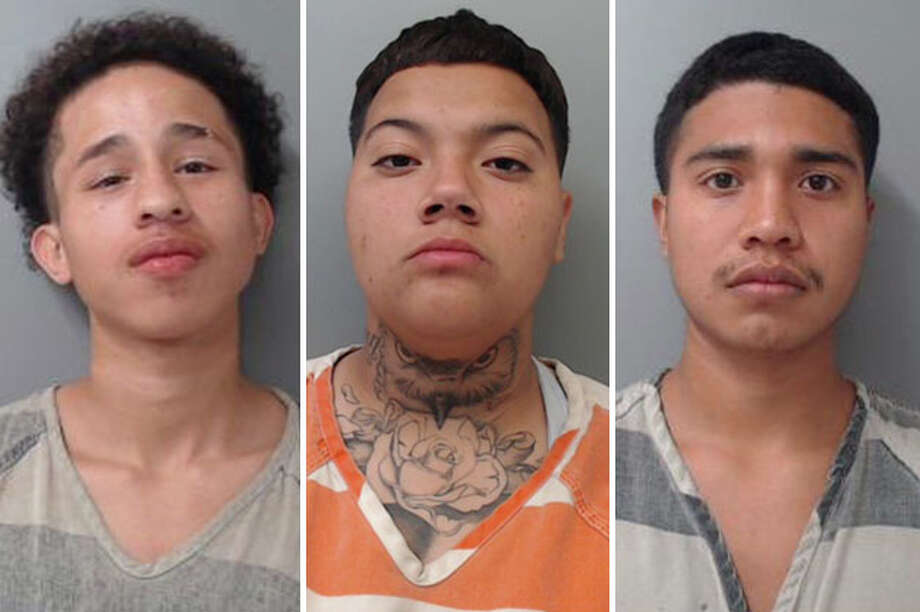 Three people landed behind bars for beating up a 60-year-old man, according to Laredo police. Photo: Courtesy
