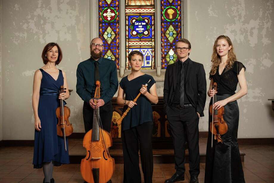 The second Early Music Concert of the upcoming season presents Les Delices. It occurs Nov. 15 at 7:30 p.m. in Palmer Memorial Episcopal Church, 6221 Main St., 77030. It's billed as an Intoxicating Medieval Sensory Experience designed to entrance, elevate, and excite the senses with a sensory journey through 14th century France with centuries-old music that has a modern sound. Photo: Contributed / Steven Mastroianni / ©Steven Mastroianni