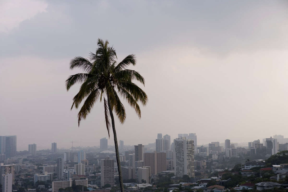 Hawaii ranked as the least affordable state to buy a home, according to the study. The typical annual income covered just 10% of a home's purchase price.