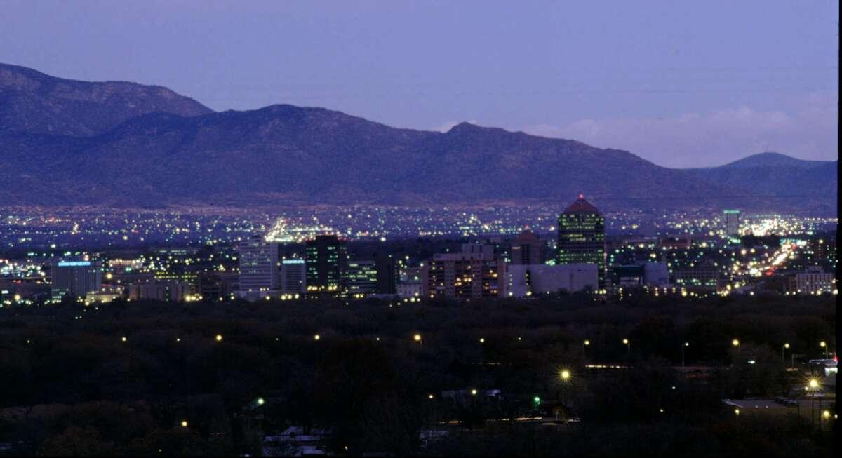 New Mexican The Albuquerque, N.M. skyline (AP Photo/Eric Draper)