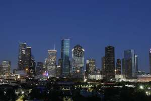 Texan Houston skyline