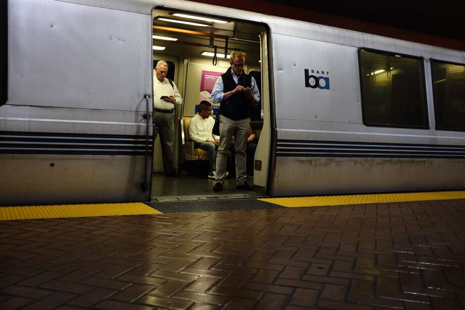 BART passengers faced delays Friday morning due to a stabbing, BART officials say. Photo: Mike Moffitt/SFGATE