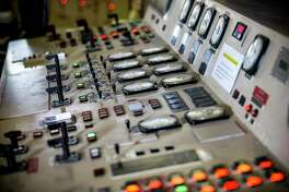 A panel in the control room is shown at NRG's TH Wharton Generating Station in Houston. NRG is preparing its Houston-area power plants for the summer as Texas is expected to shatter power demand records and the state's power reserves are the lowest they have been in nearly a decade. ( Brett Coomer / Houston Chronicle )