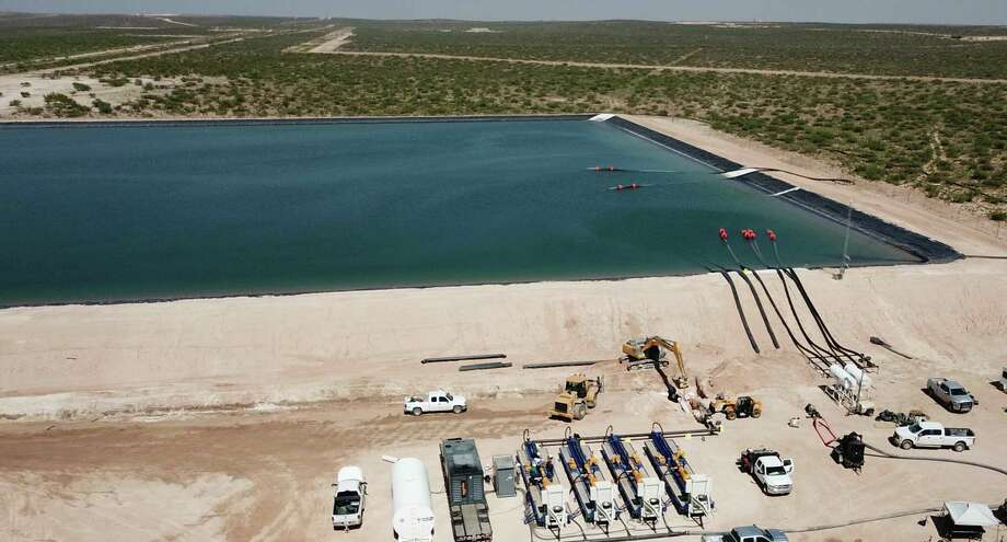 One option for oil field wastewater is to reuse it, which Houston-based Solaris Water Midstream does with its Pecos Star System on the New Mexico side of the Permian Basin. Photo: Courtesy Image / Solaris Water Midstream