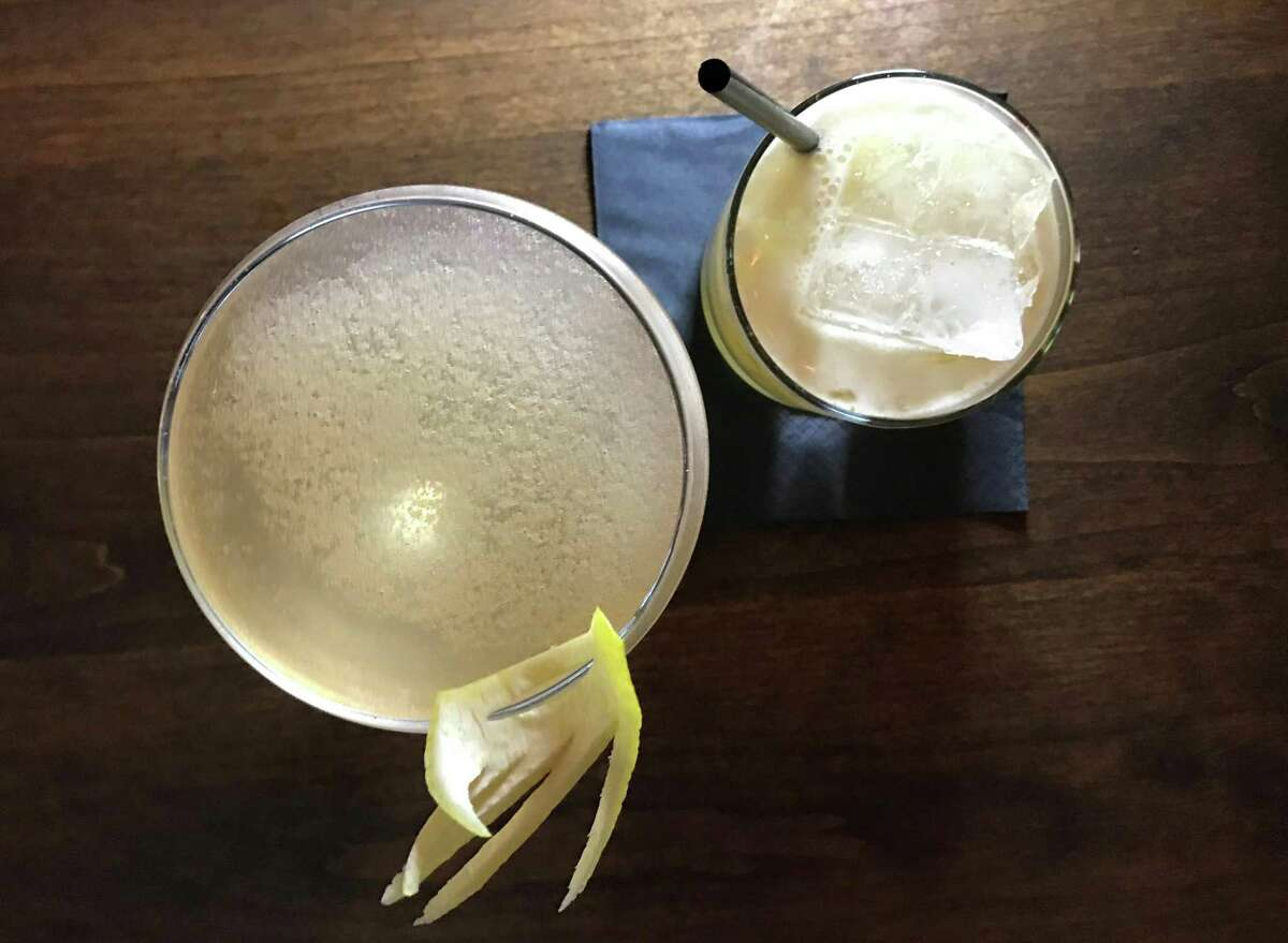 Fitzgerald and Brown Derby cocktails from Lilly's Greenville