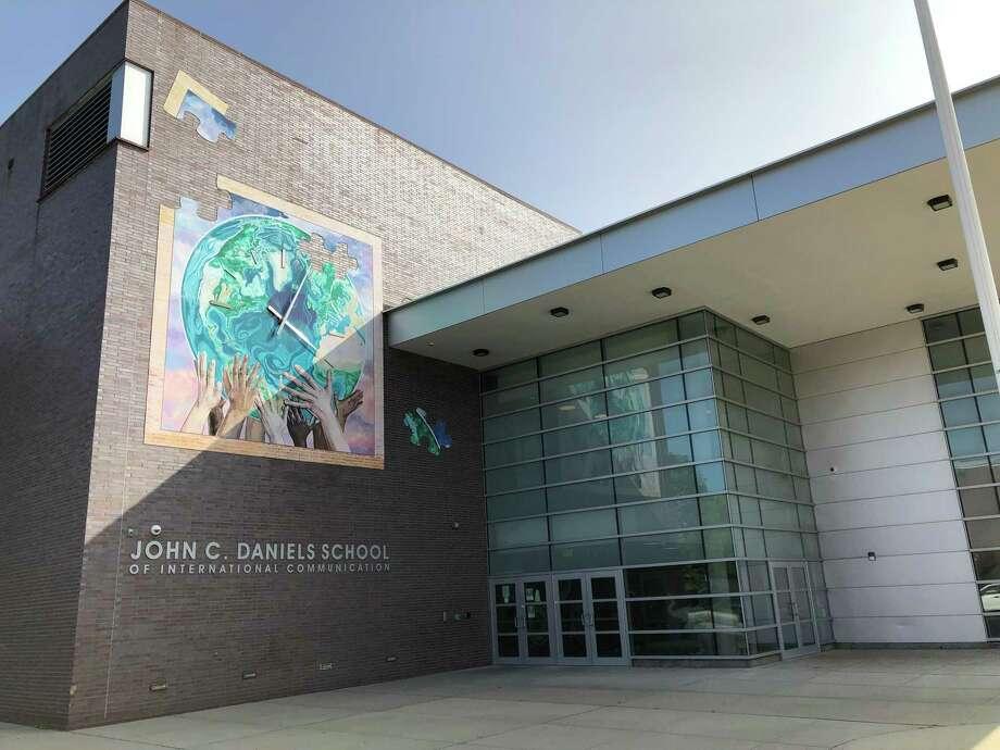 The John C. Daniels School, located at 569 Congress Ave. in New Haven. Photo: Ben Lambert / Hearst Connecticut Media