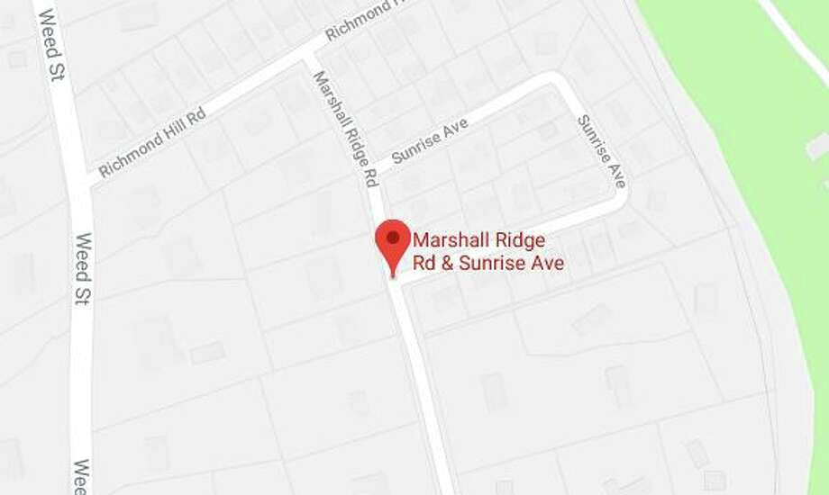 "Two houses and ""multiple"" vehicles were entered in the area of Sunrise Avenue and Marshall Ridge Road in New Canaan between 7 p.m. Wednesday, July 31, and 7 a.m. Thursday, Aug. 1. Doors were left unlocked, police said. Photo: Google Maps / New Canaan Advertiser"
