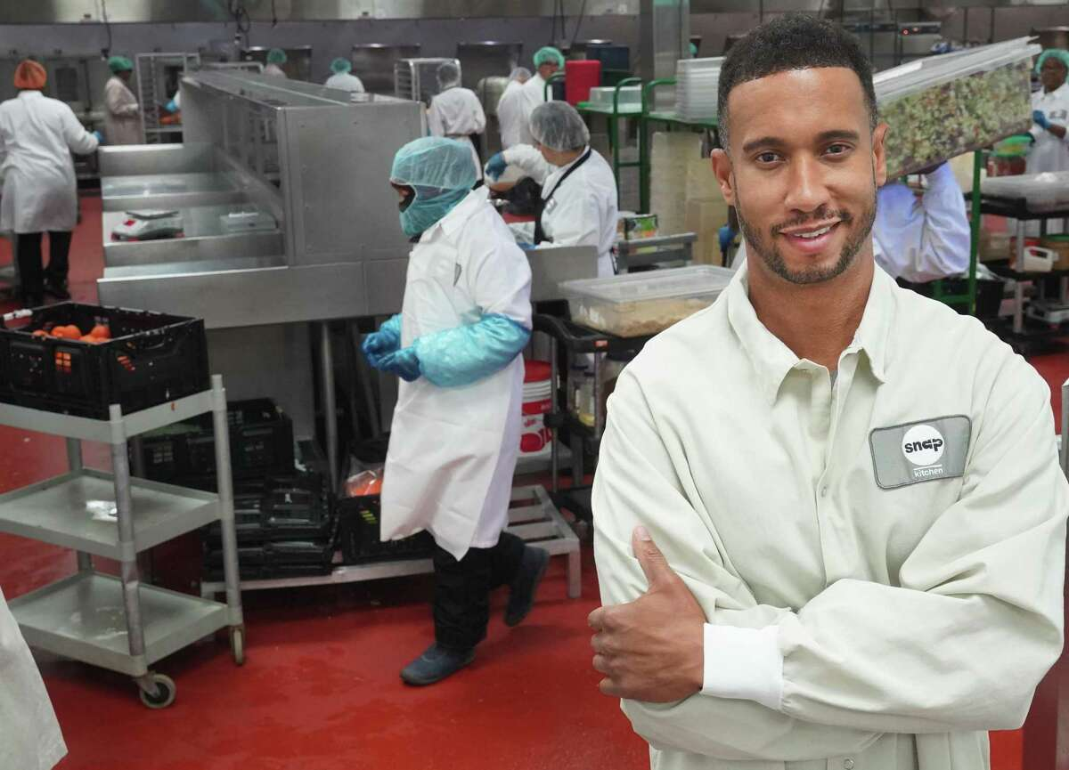 Snap Kitchen CEO Jon Carter is pictured at the Snap Kitchen commercial kitchen in Fort Worth.