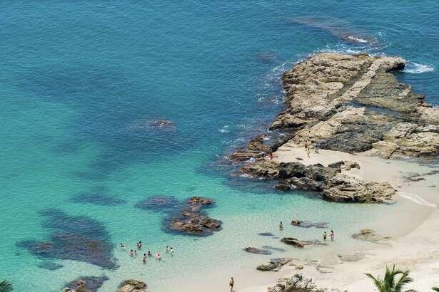 Conchas Chinas beach near Puerto Vallarta, Mexico
