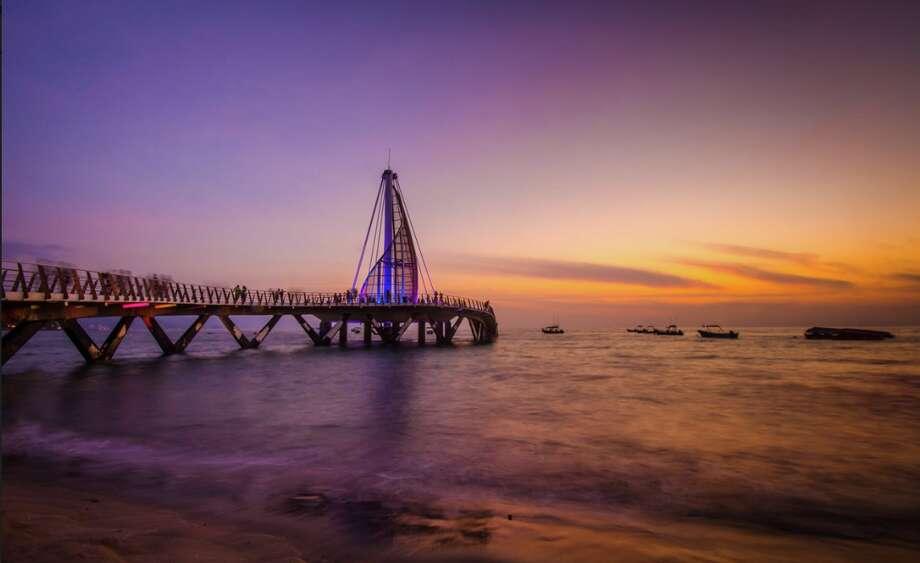 The main pier in Puerto Vallarta, Mexico Photo: Miguel Naranjo