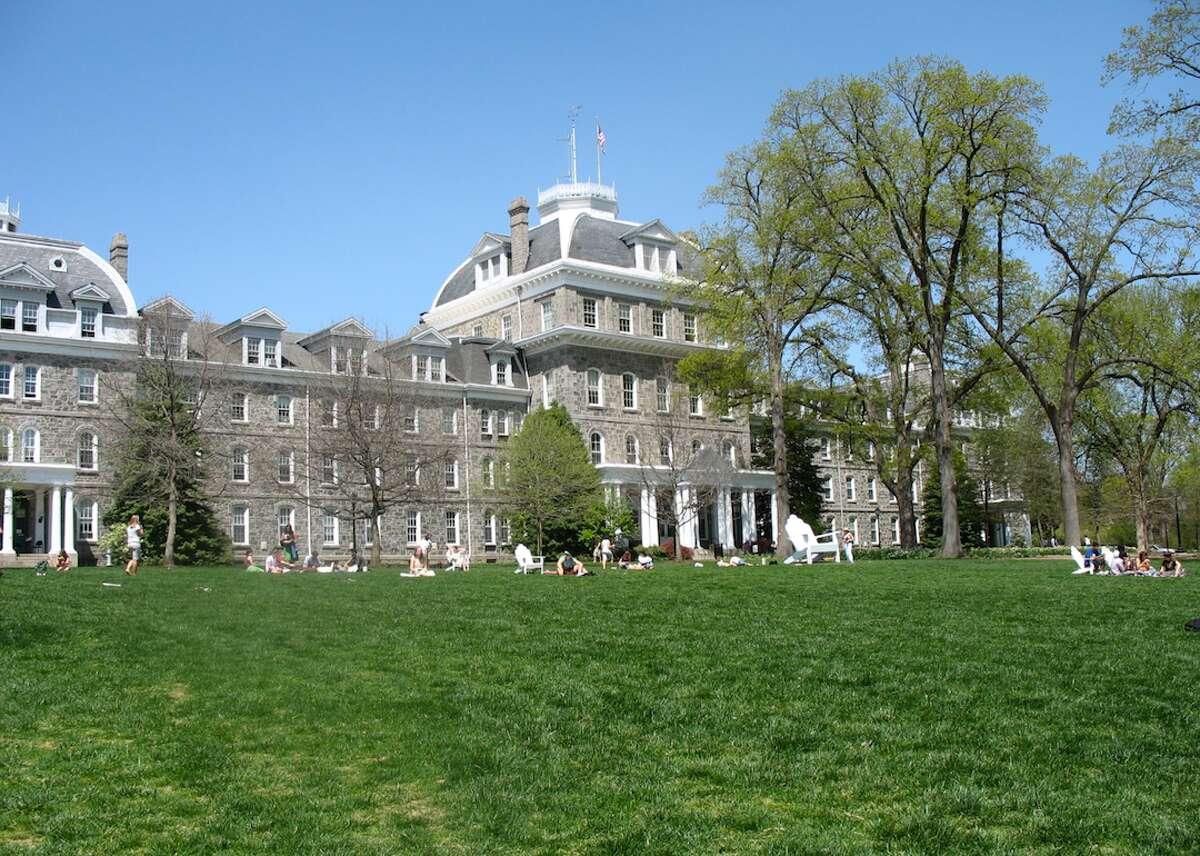 18. Swarthmore College Where: Swarthmore, Pennsylvania SAT range: 1380-1540 Acceptance rate: 11 percent Net price (per year): $20,444