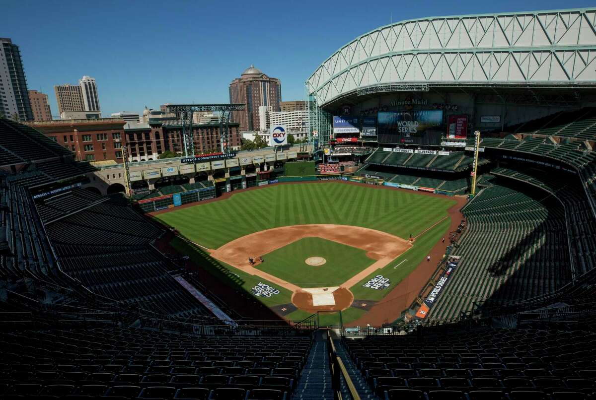The Astros will make some improvements at Minute Maid Park in right field and on suite level along third-base line.