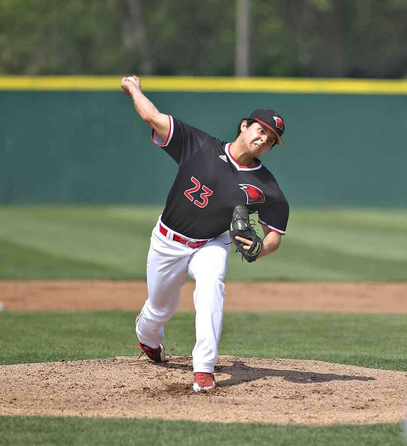 Former United and UIW pitcher Bernie Martinez was promoted to the Everett AquaSox this week after recording a 0.77 ERA in nine appearances for the Mariners in the Arizona League. Photo: Courtesy Of UIW Athletics /file