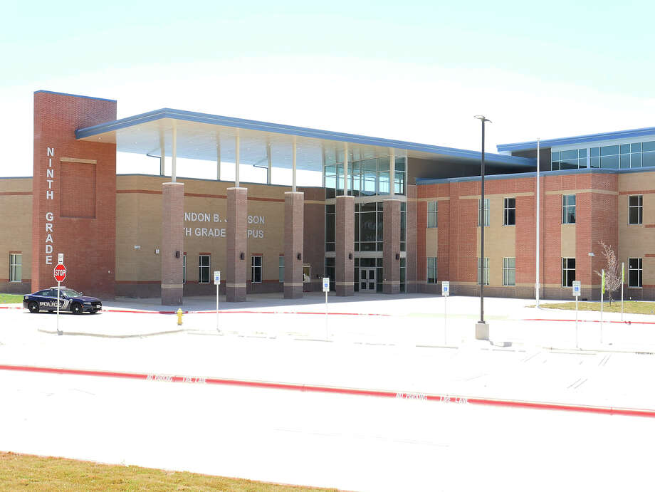 Photos taken from an early preview show the inside of the newly-built Lyndon B. Johnson High School 9th grade campus. Photo: Cuate Santos/Laredo Morning Times