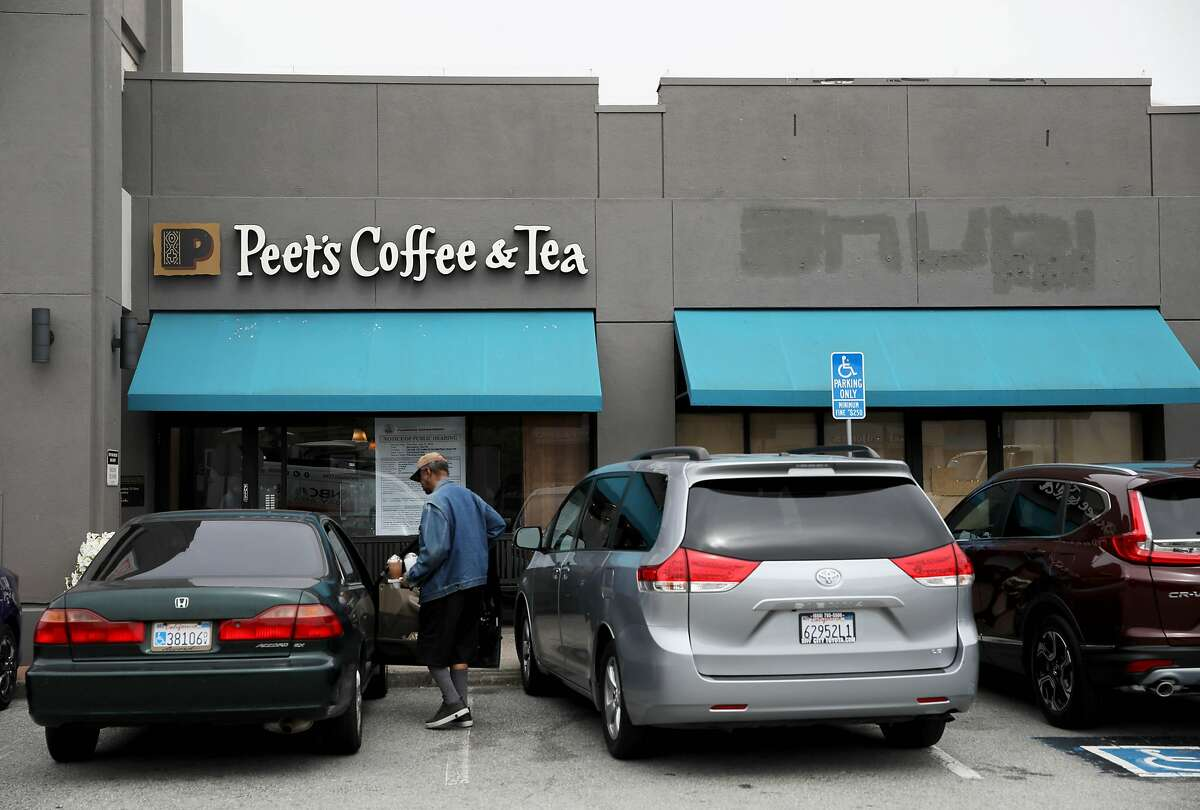 Peet's Coffee and Tea hopes to expand business to the adjacent vacant space at 1511 Sloat Blvd. in San Francisco, Calif., on Wednesday, July 31, 2019.