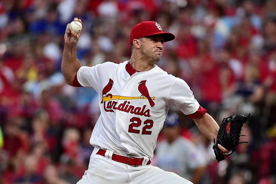 Cardinals right- hander Jack Flaherty limited the Cubs to one hit in seven innings. Photo: Jeff Curry / Getty Images