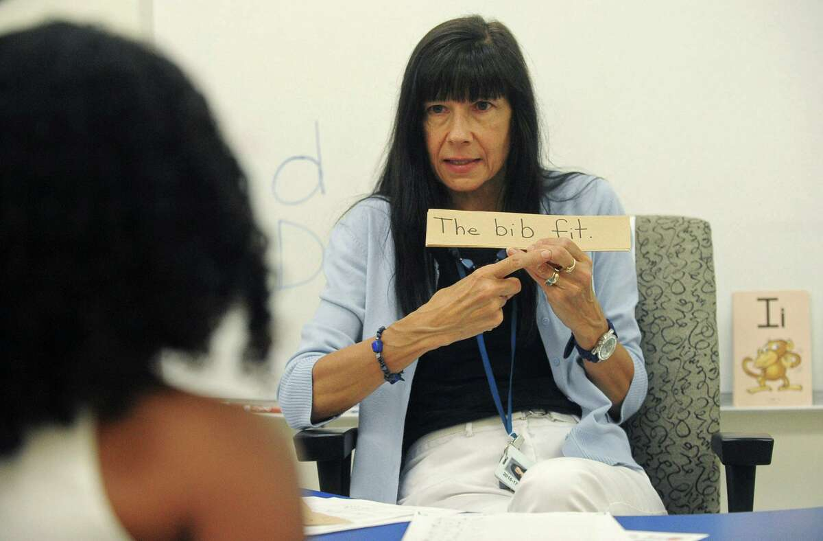 Norwalk Public School teacher Dr. Marian Arnista instructs students with dyslexia during a Literacy How program facilitated through the Academy of Orton-Gillingham Practitioners and Educators and sponsored by Fairfield University at Brookside Elementary School Thursday, July 6, 2017, in Norwalk, Conn. Orton-Gillingham is an instructional approach intended primarily for use with persons who have difficulty with reading, spelling, and writing of the sort associated with dyslexia.