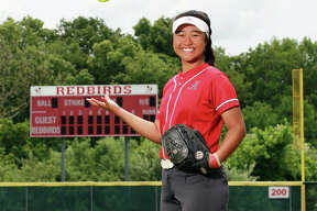 Alton's Tami Wong is the 2019 Telegraph Large-Schools Softball Player of the Year after putting up a school-record .625 batting average as a senior.