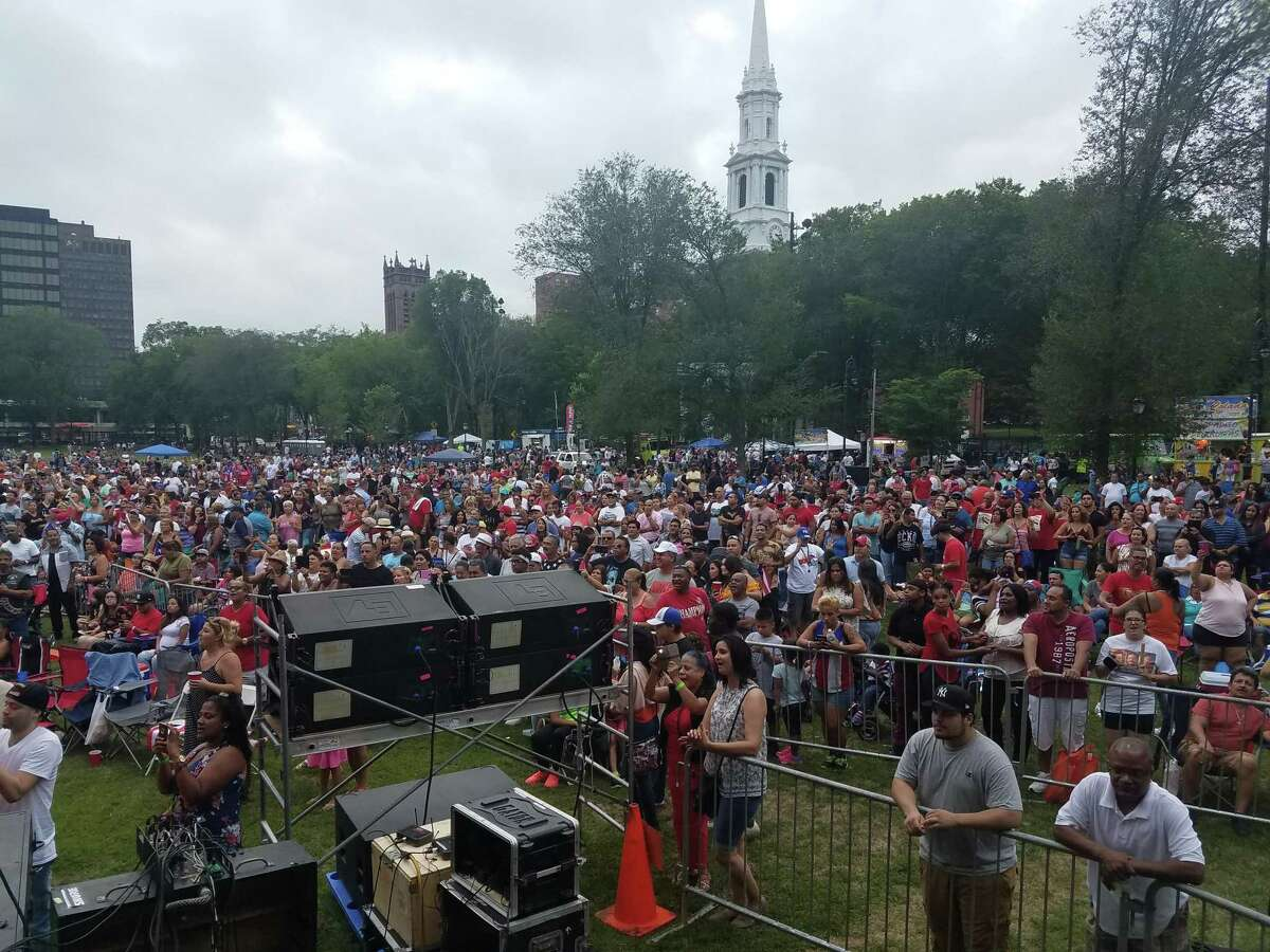 A view of the crowd from a previous Puerto Rican Festival.