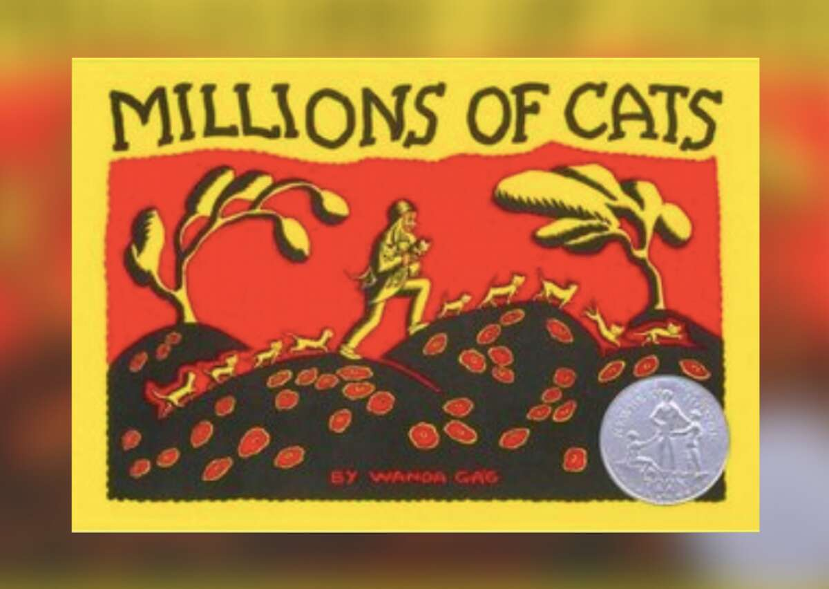 """Millions of Cats Author: Wanda Gág Year: 1928 In the late 1920s, American artistWanda Gág's eye-catching workcaught the attention of a local editor, who then asked Gág to author and illustrate a children's book. The result was """"Millions of Cats,""""about an old man and woman who literally inspire a massive cat fight while deciding which furry critter to take home. Featuring an iconic rhyming verse that begins with """"Cats here, cats there, Cats and kittens everywhere,"""" this is one of the few picture books to win a Newbery Honor. It's also theoldest American picture book still in print. This slideshow was first published on theStacker.com"""