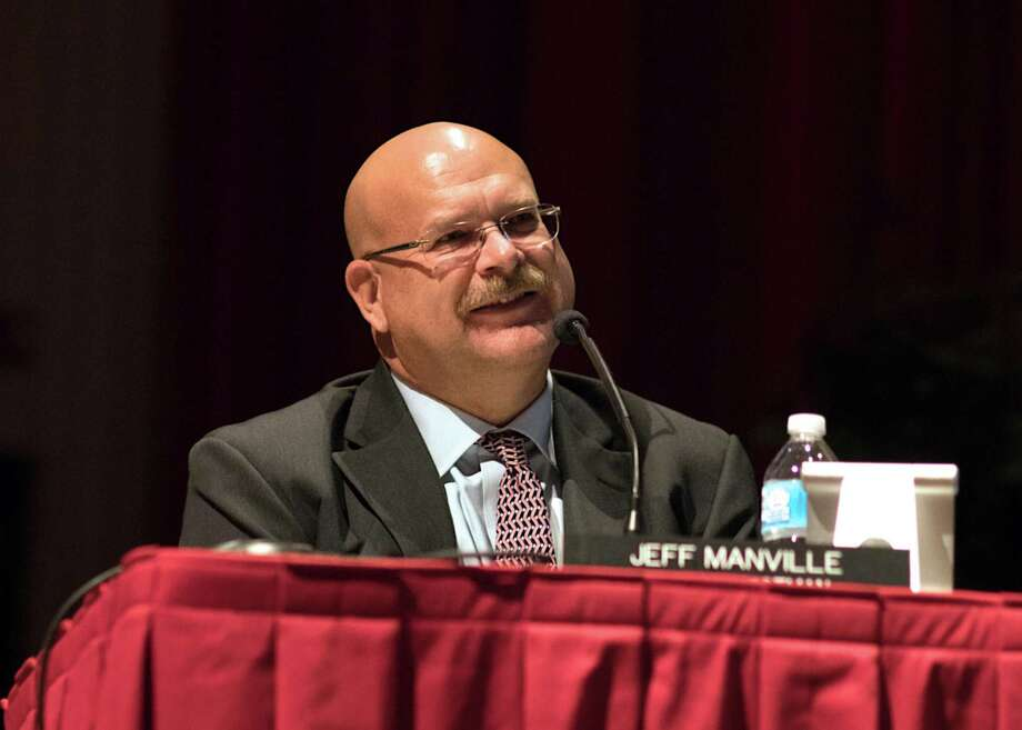 Southbury Selectman Jeff Manville. Photo: Trish Haldin / The News-Times Freelance