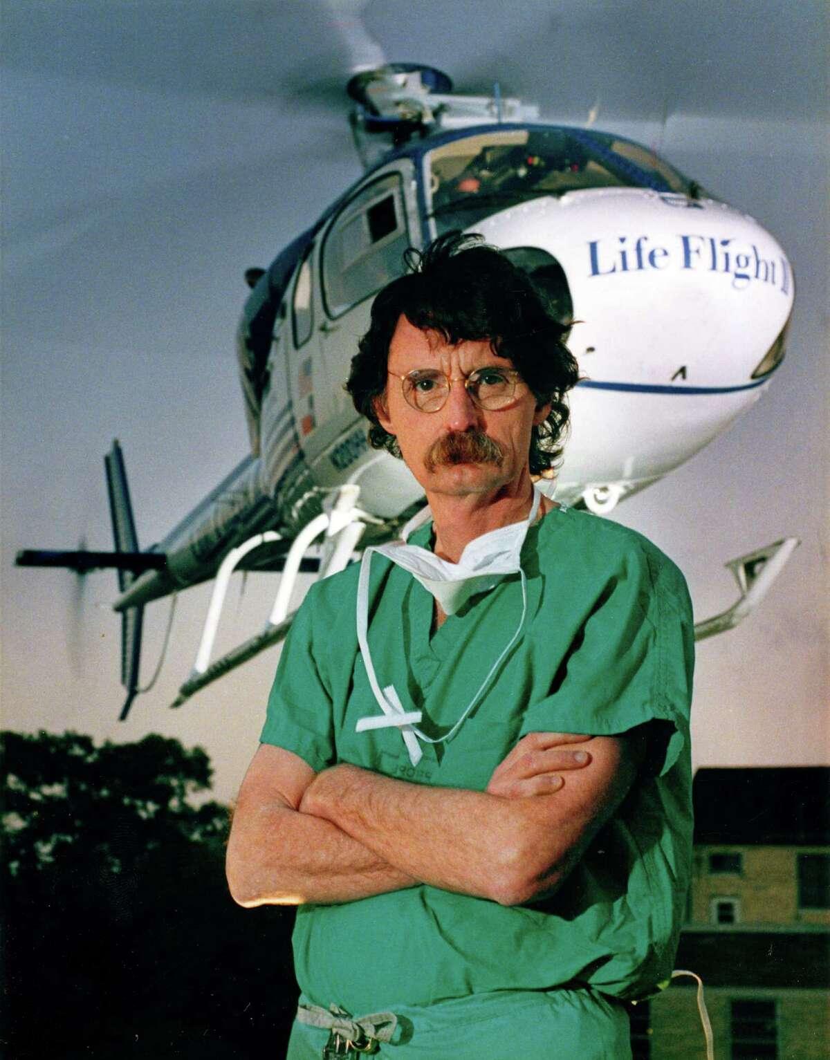 October 1986: Dr. James