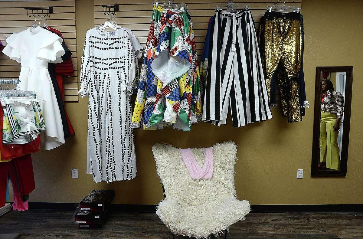 Inside G's Shoe Goddess on Texas 105 in Beaumont.
