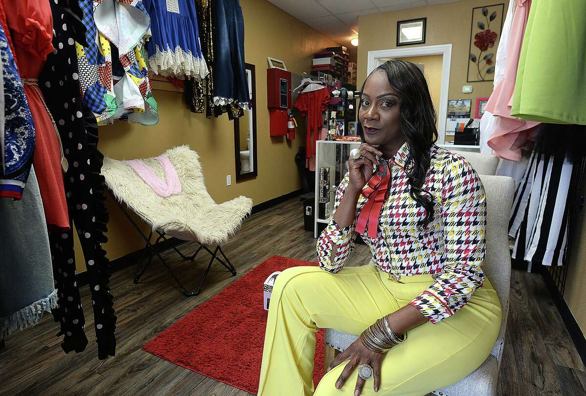 Gwenda Williams Thomas relocated her clothing, shoe and accessory boutique to a shopping plaza on Texas 105 a few months ago.