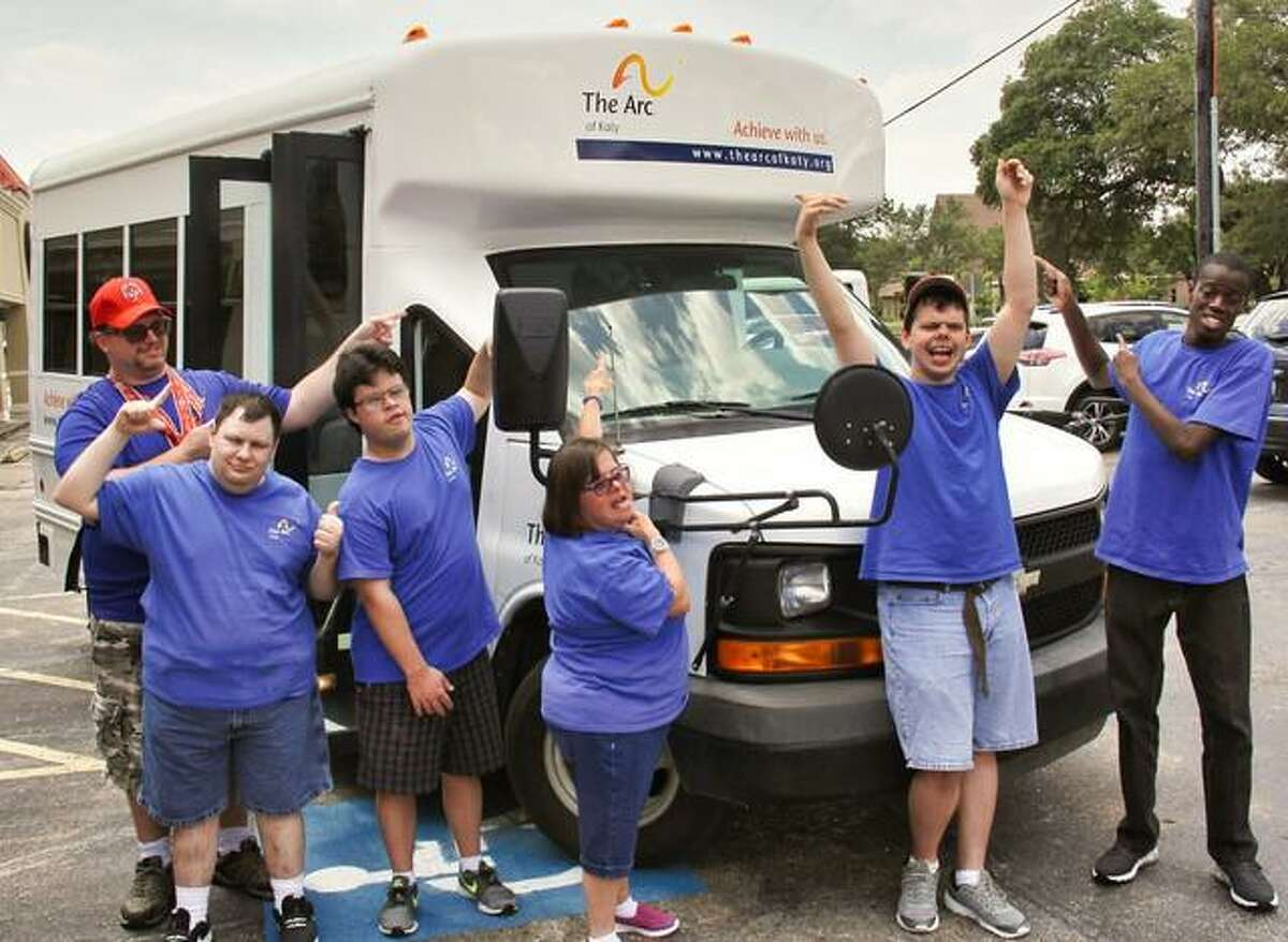 The Arc of Katy used funds raised from its annual gala held earlier this year to acquire a 14-passenger bus.