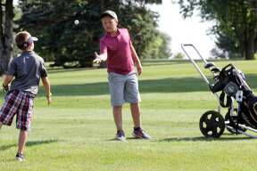 Young golfers took part in the Buckley Junior Golf Tournament this week at Rolling Hills Golf Course in Cass City.