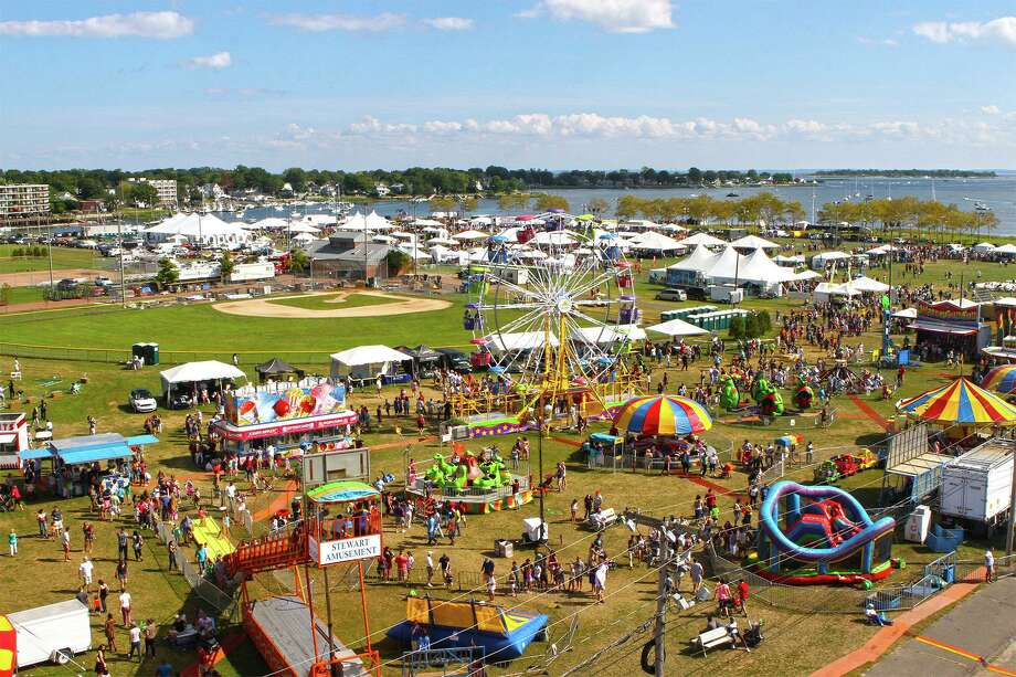 The 2019 Norwalk Oyster Festival will be at the 35-acre Veterans Memorial Park Sept. 6-8. Photo: Norwalk Seaport Association / Contributed Photo