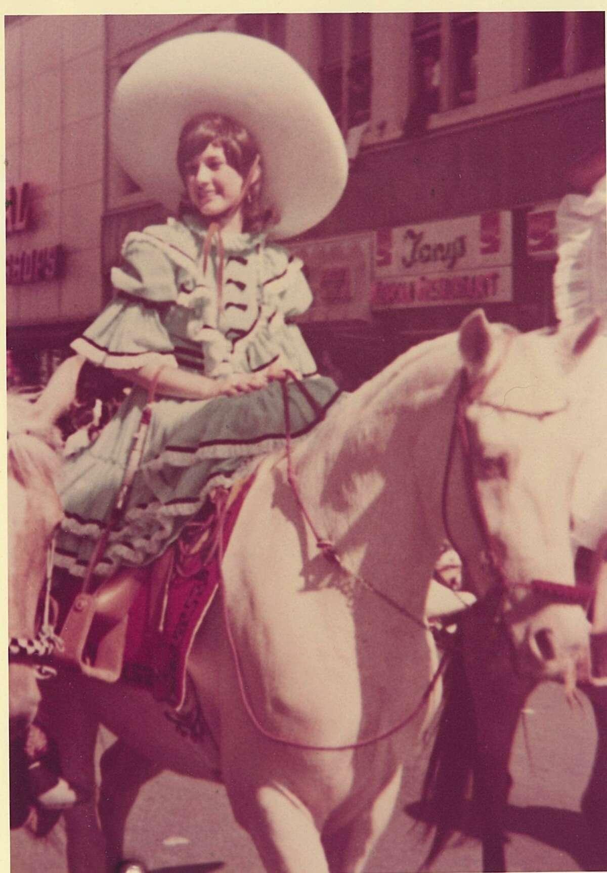 Melinda Cedillo was very active in the San Antonio Charro Association, constantly performing in the