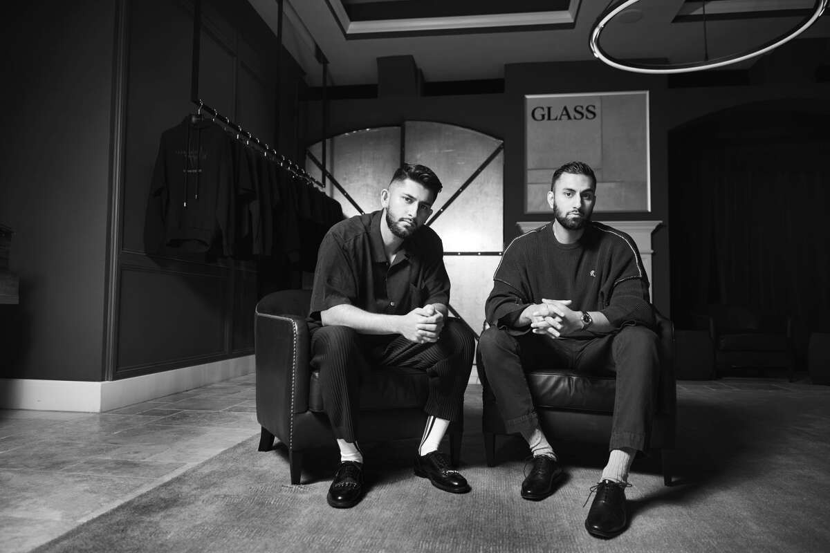 Saber and Sam Ahmed founded Glass Cypress, a men's streetwear brand based in Houston.
