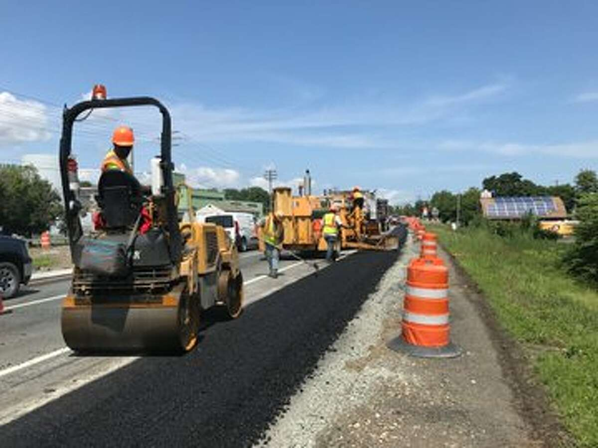 Northbound Cohoes Boulevard (Route 787) will be closed from Friday evening through early Monday between Tibbitts and Dyke Avenue as the state Department of Transportation installs part of the raised intersection.