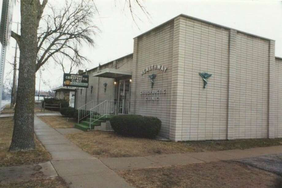 John Ostergren operated his chiropractic practice from 1966 to 2017 from this office, located at 702 Ashman St. (Photo provided)
