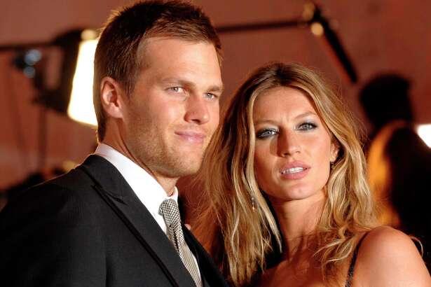 Tom Brady and Gisele Bundchen on May 4, 2009.