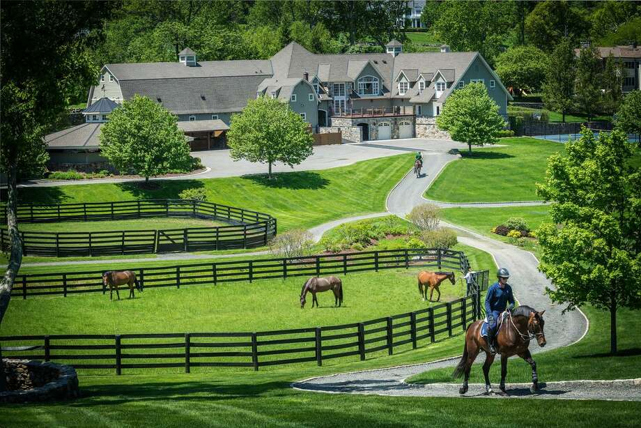 Double H Farm, located at 11 Old Stagecoach Road in Ridgefield, will host a sneak preview of a multimillion dollar barn. The event, to be held on Aug. 24, will benefit the Semper Fi Fund. The barn will be featured on the Polo America Barn Tour. Photo: Randy Russell / Contributed Photos / © SR Photo, LLC All Rights Reserved
