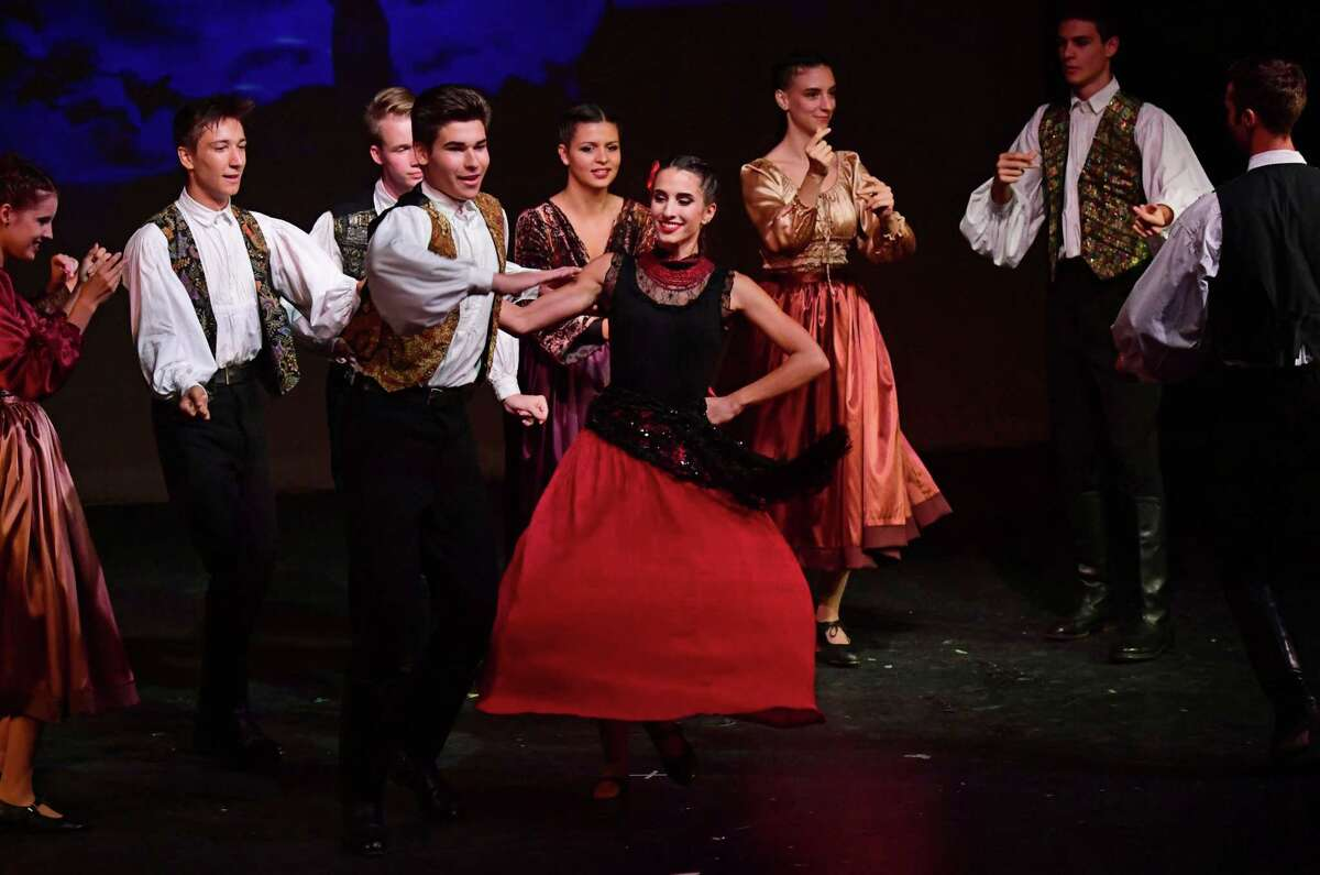 Crystal Theater and the Liget Dance Ensemble of Budapest perform in Hungarian Nights on July 24 at the theater in Norwalk. Among the cast is so starred Emma Rogers, of Weston, as Ilona.