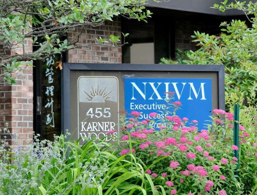 NXIVM office in Colonie. (Skip Dickstein/Times Union)