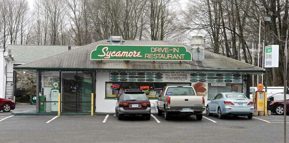 The Sycamore Drive-Inn, at Grosso's Corner on Greenwood Avenue, in Bethel, Conn, April 4, 2017. Photo: H John Voorhees III / Hearst Connecticut Media / The News-Times
