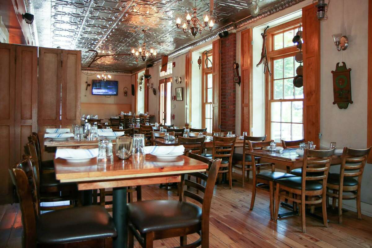 The dining room of Foundry in Sandy Hook.
