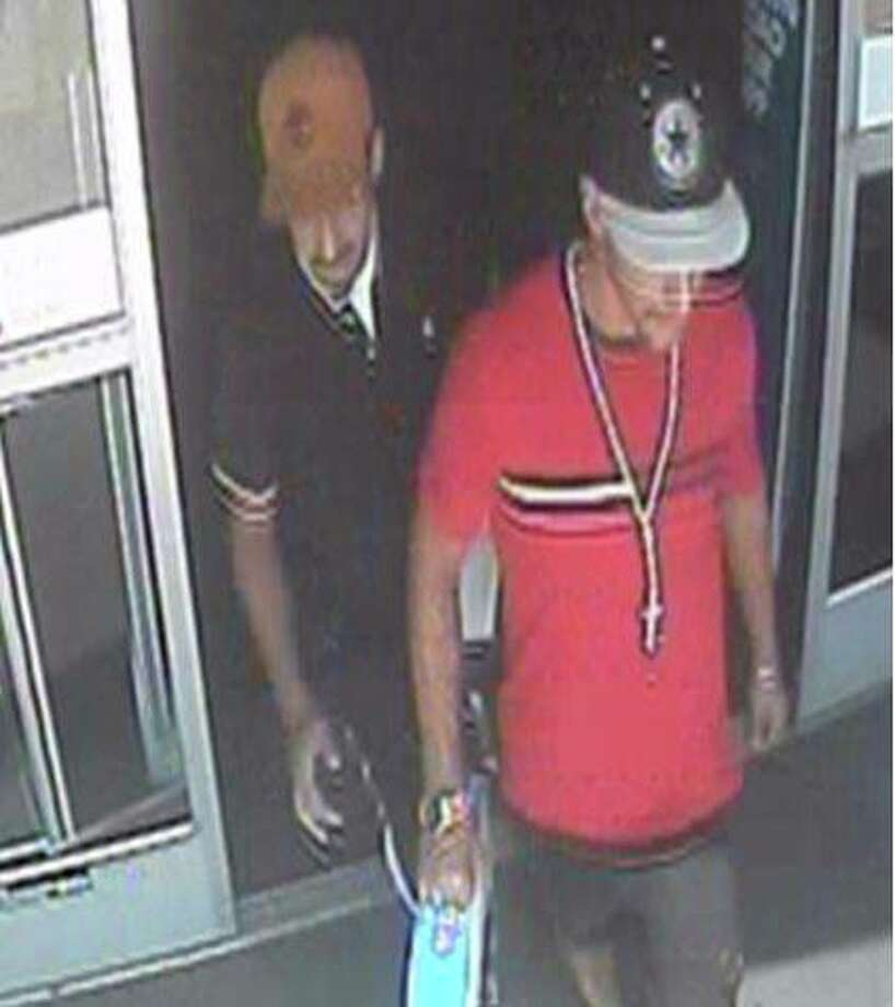 Two men are wanted for questioning by Laredo police after the recent theft of two PlayStation Pros. Photo: Courtesy